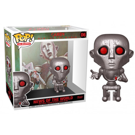 Funko Pop! Albums Queen News of The World
