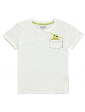 Camiseta Chica Baby Yoda The Mandalorian