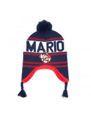 Super Mario gorro con orejeras Mario
