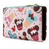 Cartera Loungefly Mickey y Minnie Ice Cream
