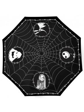 NIGHTMARE BEFORE XMAS - Umbrella - Jack & Spider Webs
