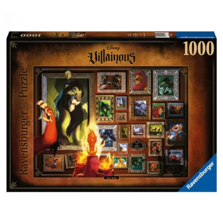 Puzzle El Rey León Scar 1000 piezas