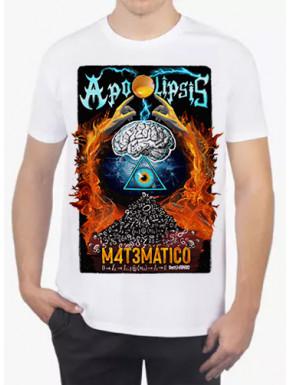 Camiseta Apocalipsis Matemático Blanca