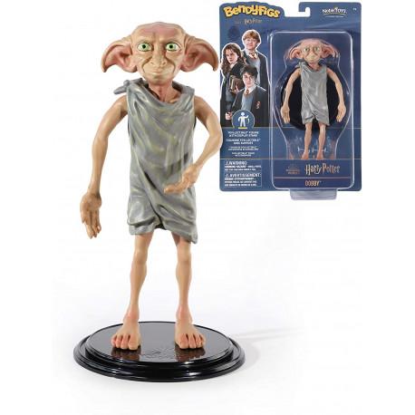 Dobby - Figura Toyllectible con soporte Bendyfigs - Harry Potter