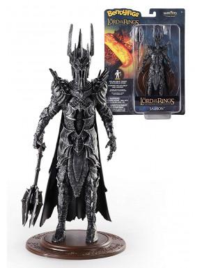 Sauron - Figura Toyllectible Bendyfigs - El Señor de los Anillos