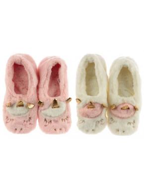 Zapatillas de casa Térmicas Unicornio talla única