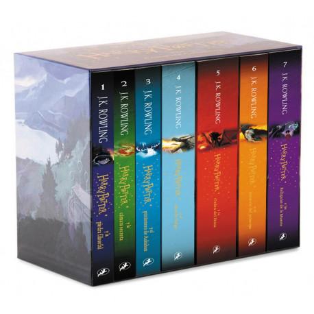 Set Libros Harry Potter