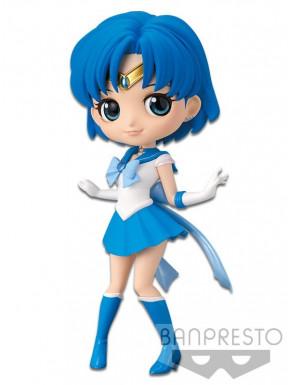 Sailor Moon Eternal The Movie Minifigura Q Posket Sailor Mercury Ver. A 14 cm