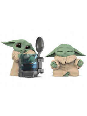 Star Wars Mandalorian Bounty Collection Pack de 2 Figuras The Child Curious Child & Meditation