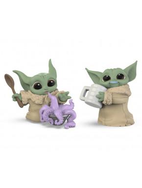 Star Wars Mandalorian Bounty Collection Pack de 2 Figuras The Child Tentacle Soup & Milk Mustache