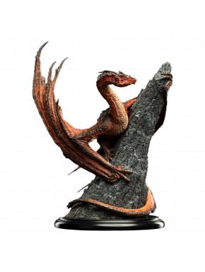 El Hobbit Estatua Smaug the Magnificent 20 cm