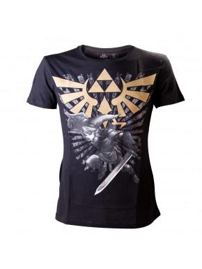 Camiseta Zelda trifuerza y link
