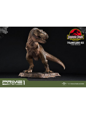 Estatua T-Rex Jurassic Park
