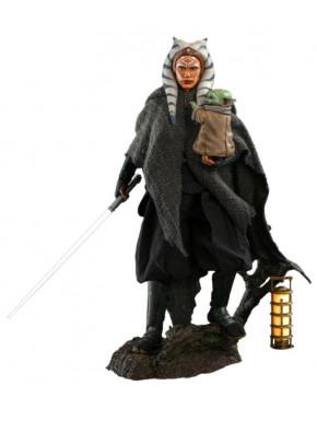Star Wars The Mandalorian Pack de 2 Figuras 1/6 Ahsoka Tano & Grogu 29 cm