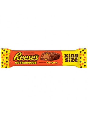 Barra de Chocolate y Cacahuete Reese's Outrageous King Size