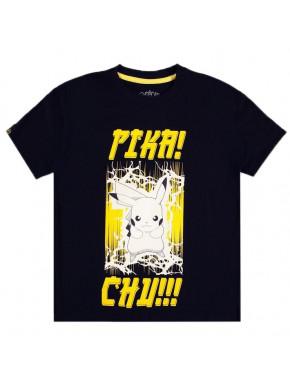 Camiseta Mujer Pokémon Pikachu Pika! Chu!!!