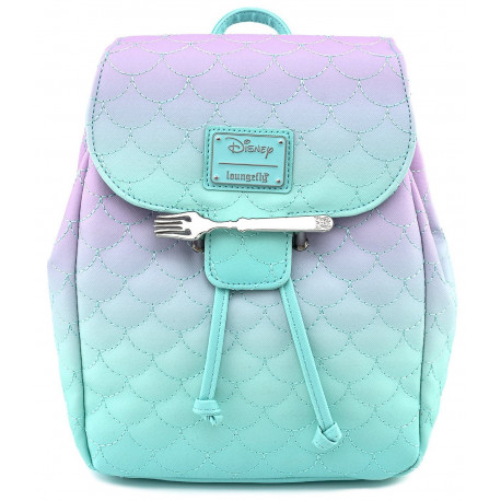 Bolso mochila La Sirenita Loungefly Disney
