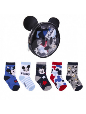 PACK CALCETINES 5 PIEZAS MICKEY