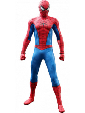 Marvel's Spider-Man Figura Video Game Masterpiece 1/6 Spider-Man (Classic Suit) 30 cm