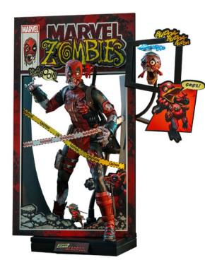 Marvel Zombies Comic Masterpiece Figura 1/6 Zombie Deadpool 31 cm