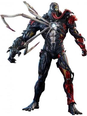 Marvel's Spider-Man: Maximum Venom Figura Artist Collection 1/6 Venomized Iron Man 35 cm