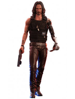 Cyberpunk 2077 Figura Video Game Masterpiece 1/6 Johnny Silverhand 31 cm