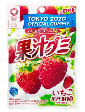 Gominolas Meiji sabor fresa 51g