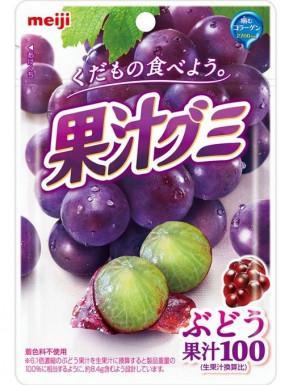 Gominolas Meiji sabor uva 51g