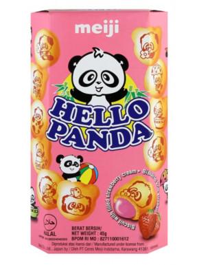 Hello Panda Crema de Fresa