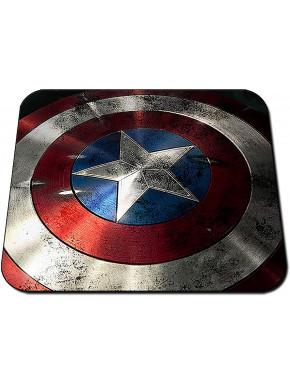 Alfombrilla escudo Capitán América Marvel