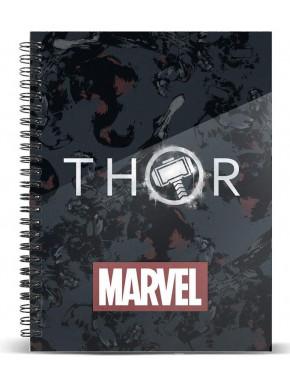 Cuaderno A5 Thor Logo