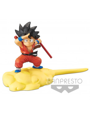 Dragonball Figura Kintoun Son Goku on Flying Nimbus Normal Color Ver. 13 cm