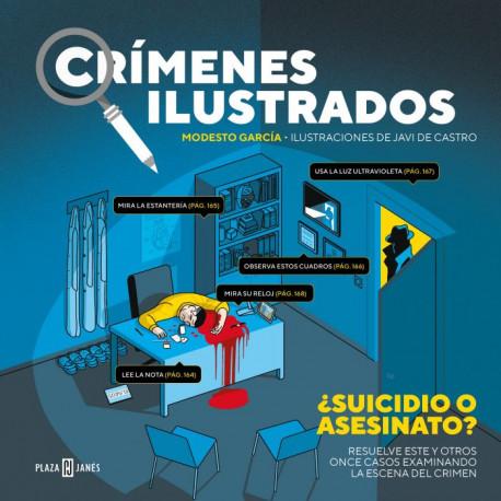 Libro Crímenes Ilustrados