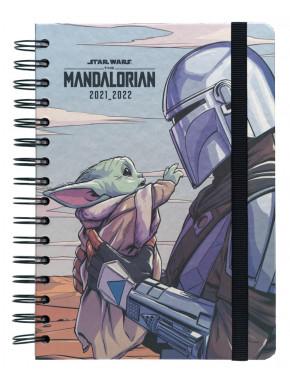 Agenda escolar 2021/2022 A5 The Mandalorian