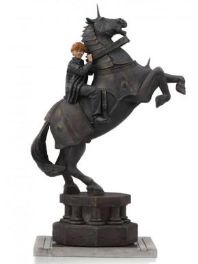 Estatua Ron Harry Potter