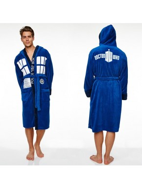 Doctor Who albornoz polar Tardis