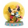 Figura Mickey y Minnie Luna Jim Shore 16 cm