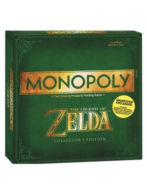 Monopoly Zelda edición coleccionista Inglés