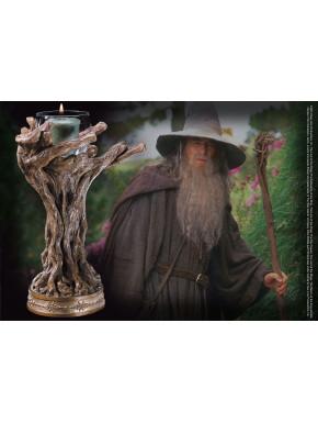 El Señor de los Anillos Candelero Gandalf el Gris 23 cm