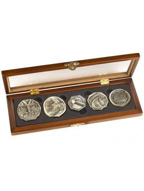 El Hobbit Set de Monedas Dwarven Treasure