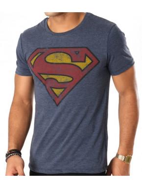 Camiseta Superman vintage logo DC Comics
