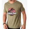 Camiseta Jurassic Park Logo Vintage