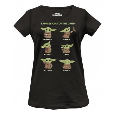 Camiseta chica Baby Yoda