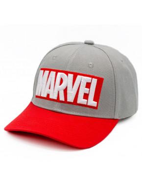 Gorra Marvel Logo Gris