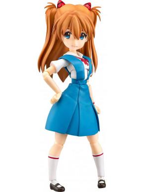 Rebuild of Evangelion Figura Parfom R! Asuka Shikinami Langley School Uniform Ver. 14 cm