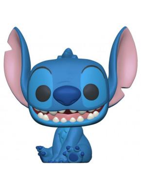 Lilo & Stitch POP! Disney Vinyl Figura Smiling Seated Stitch 9 cm
