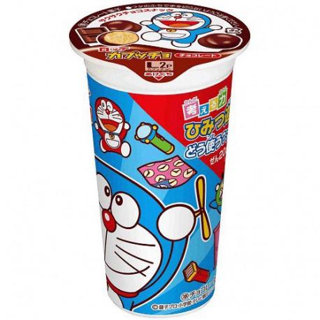 Galletas de maíz Lotte Capuccho Doraemon Sabor Chocolate