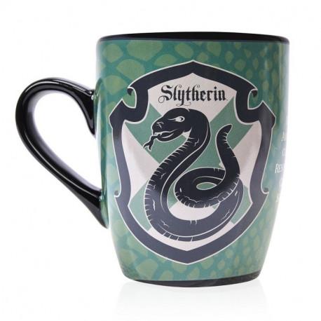 Taza térmica desayuno Harry Potter Slytherin
