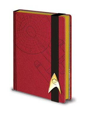Star Trek Libreta Premium A5 Engineering Red