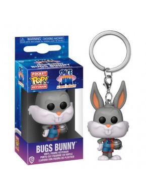 Space Jam 2 Llaveros Pocket POP! Vinyl Bugs Bunny 4 cm Expositor (12)